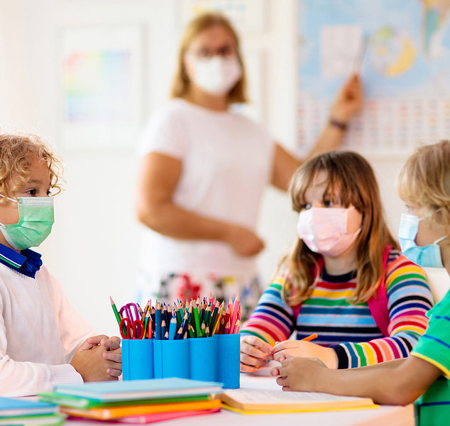 day care centres and schools